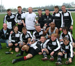 Shepherds Arms FC - 2004/05 Division 4 Cup Winners